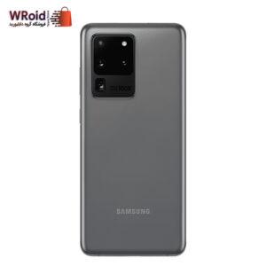 گوشی سامسونگ مدل S20 Ultra ظرفیت 128 گیگابایت رم 12 گیگابایت رنگ خاکستری