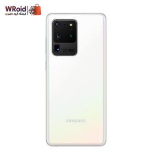 گوشی سامسونگ مدل S20 Ultra ظرفیت 128 گیگابایت رم 12 گیگابایت رنگ سفید